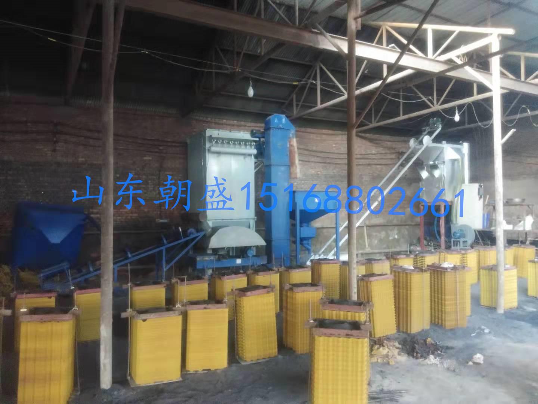 甘肃永靖100公斤电加热覆膜砂成套设备