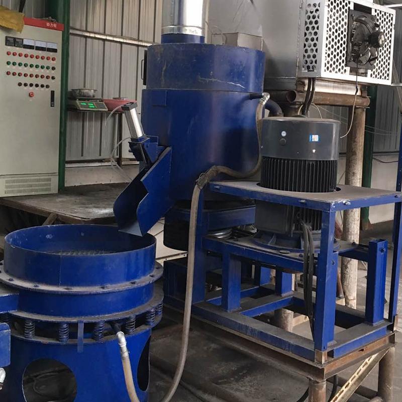 018辽宁本溪100公斤电加热再生覆膜组合生产线