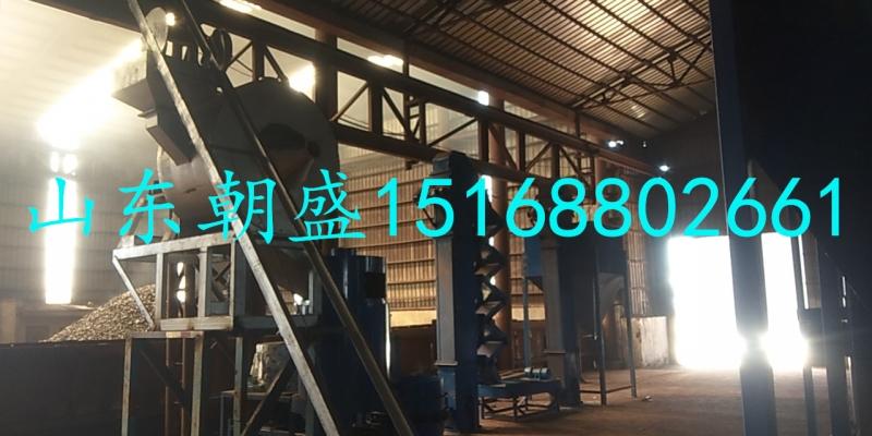 辽宁鞍山zs-200型燃气、zs-300型覆膜砂再生设备组合线顺利安装完成