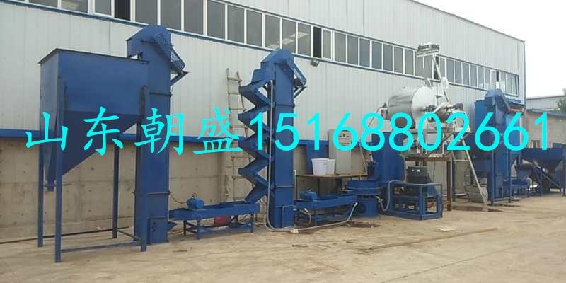 内蒙包头zs-200型燃气加热覆膜砂成套设备开始试产
