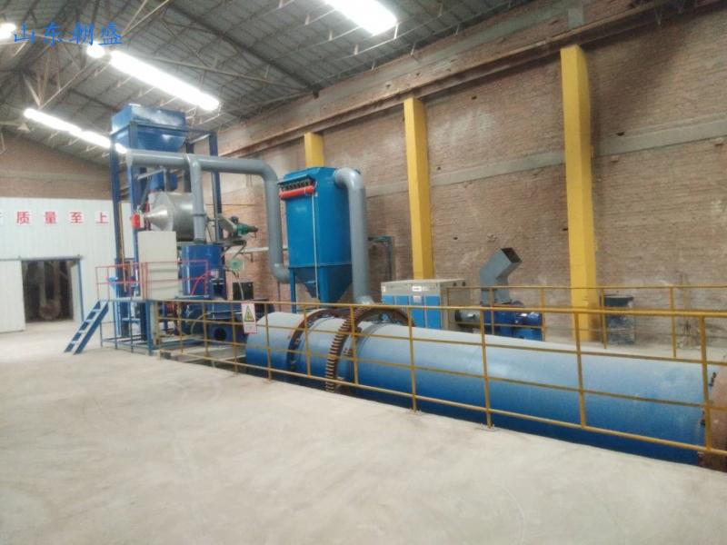 辽宁营口zs-200型燃气加热设备顺利完成