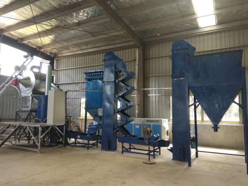 六安zs-200型燃气加热覆膜砂设备投入生产