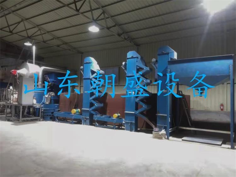 山东客户zs-300型燃气加热成套设备进入试生产