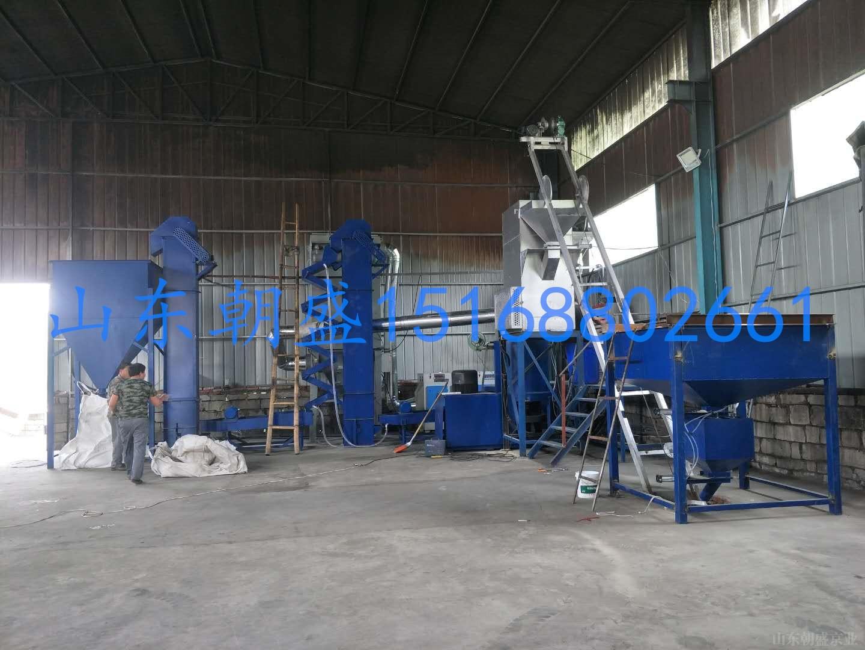 铸造砂专用成套覆膜砂设备