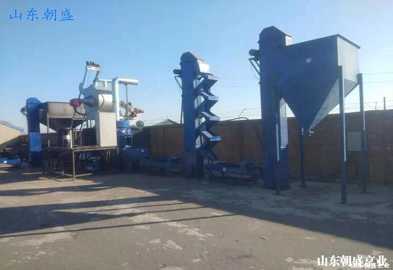 zs-300型覆膜砂生产线正式投入生产
