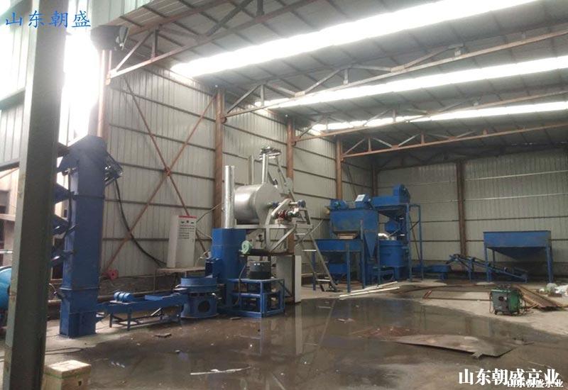 机械法覆膜砂再生设备