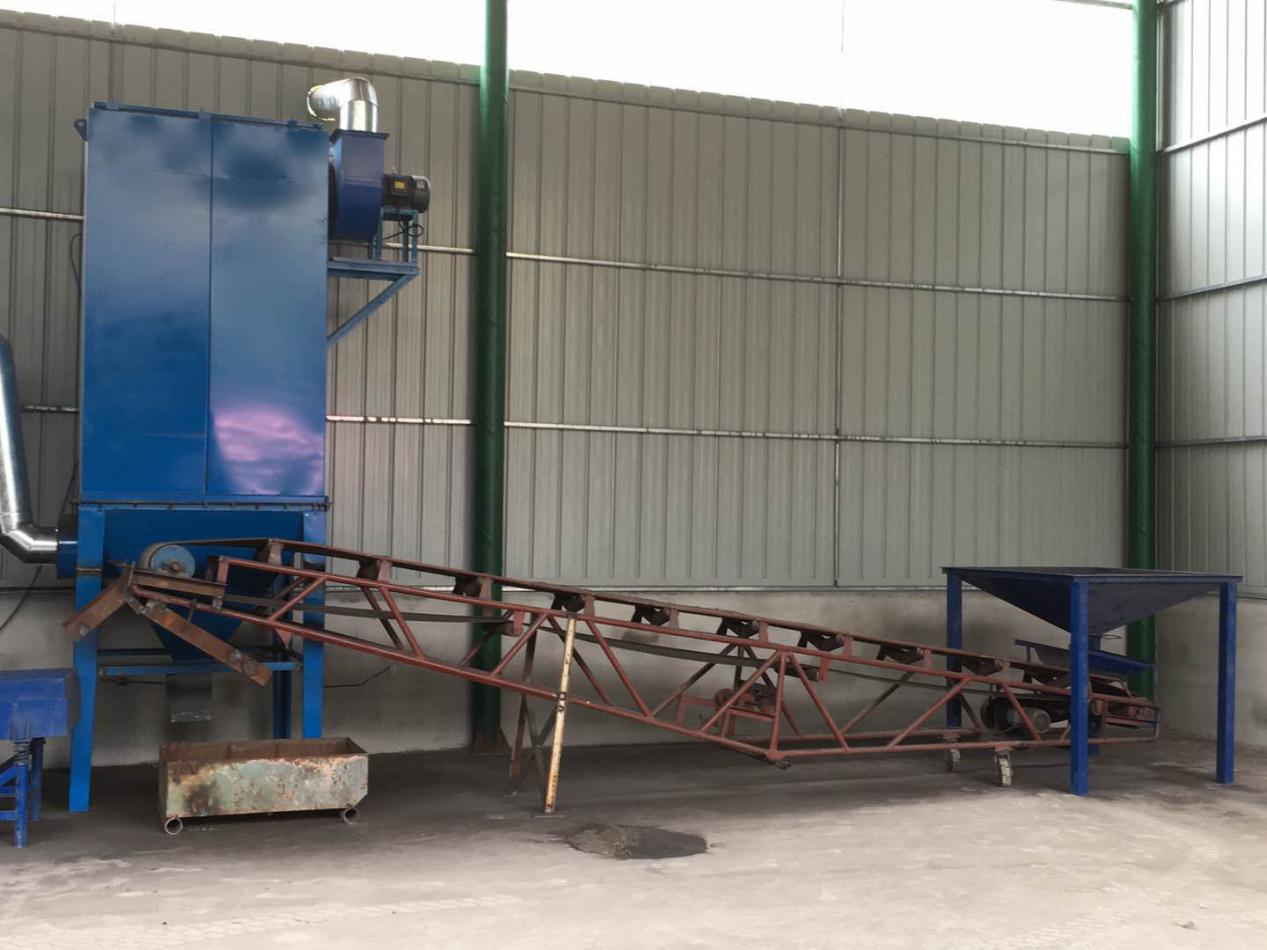 机械法覆膜砂再生生产线