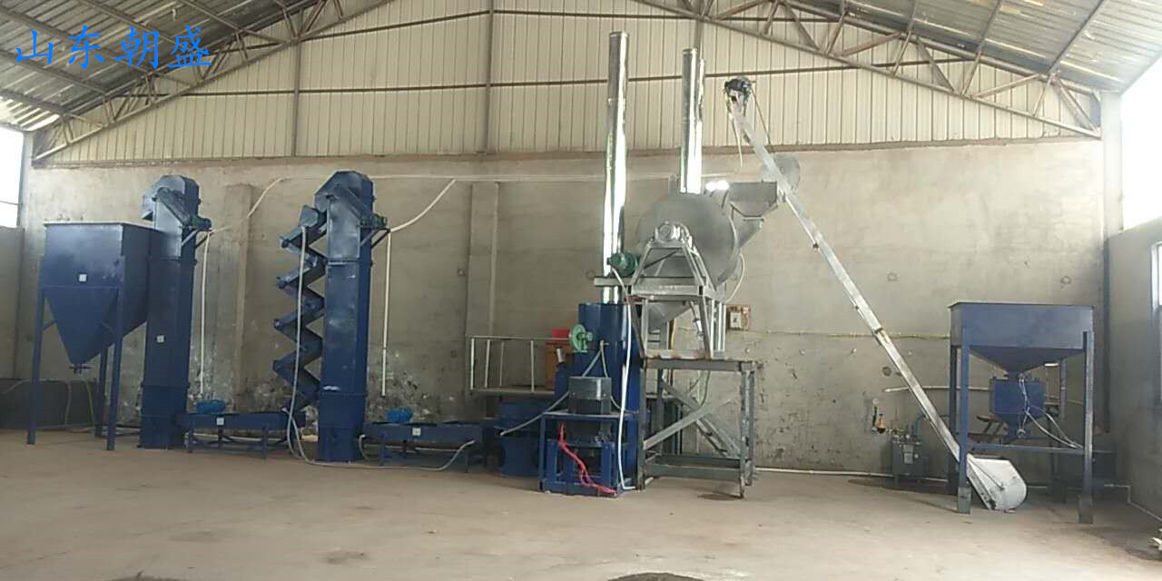 覆膜砂生产设备